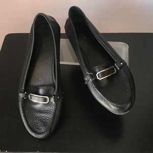 Woman's Coach loafers pre owned SZ 9.5 black